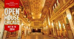 Open House Chicago is a free public event that offers behind-the-scenes access to over 150 buildings across Chicago. 150 cool places. 48 hours. Go. It's free!