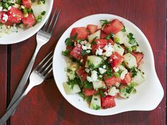 Get this all-star, easy-to-follow Watermelon-Jicama Salad recipe from Marcela Valladolid