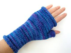 Merino fingerless gloves wrist warmers by CrazyAboutGloves on Etsy