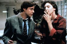 """The same year Ally Sheedy, Judd Nelson and Emilio Estevez played high school students in """"The Breakfast Club"""" they played college age in """"St."""" And that's where the brat pack started. 90s Movies, Iconic Movies, Classic Movies, Movie Tv, 1980s Films, Judd Nelson Breakfast Club, The Breakfast Club, Movies Showing, Movies And Tv Shows"""