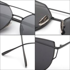 RunBird Fashion Cat Eye Sunglasses for Women Classic Brand Designer Twin-Beams Sunglasses Coating Mirror Flat Panel Lens M195 Love it? #shop #beauty #Woman's fashion #Products #Classes