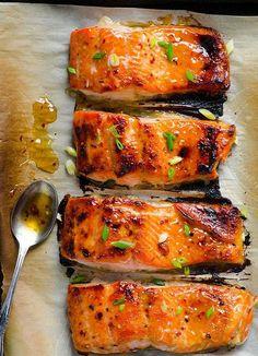 Thai Baked Salmon, 20 minutes