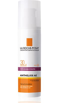 Anthelios AE FPS 30 Serum invisible Anti-signos de la edad packshot from Anthelios, by La Roche-Posay