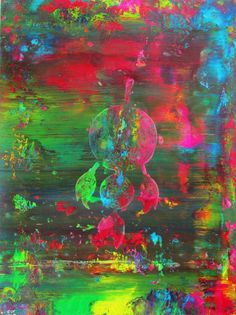 Spirit Dream Catcher Original Abstract Acrylic by rostudios, $59.95