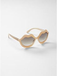 Kate Spade New York ♥ GapKids lip sunglasses - Visit unexpected places and imagine your way to holiday. Shop our limited time Kate Spade New York & JACK SPADE ♥ Gap collection of new favorites and perfect gifts. Dress to play.