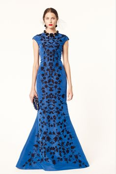 The only problem with this dress is that I can't afford it and I have no place to wear it! - Oscar de la Renta Resort 2014