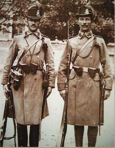 Lock, Stock, and History World War One, First World, Ww1 Soldiers, Police Uniforms, Austro Hungarian, Historical Photos, Warfare, Hungary, Old Things