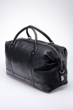 Mayfair Leather Holdall - The British Belt Company - Bags : Thrillist