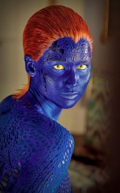 Jennifer Lawrence as Mystique
