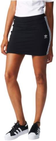 Adidas originals adidas Originals 3-Stripes Skirt - Womens - Black/White Athletic Skirts, Adidas Originals, The Originals, Stripe Skirt, Mini Skirts, Stripes, Black And White, Women, Fashion