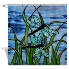 DroganFly Shower Curtain