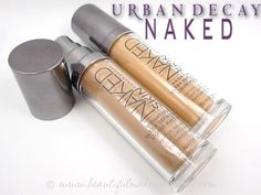 Urban Decay Naked Skin Foundation Review & Photos