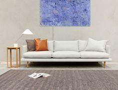 Freddy Australian Made Fabric Sofa Lounge by Bent Design Studio for Huset