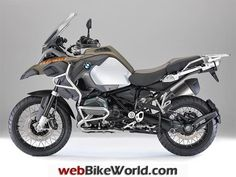 """Get Amazing Motorcycle Gear & Service at RevZilla 2014 BMW R 1200 GS Adventure October 7, 2013 – It was 1 year and 5 days ago when BMW announced the new R 1200 GS with its new water-cooled engine. Today BMW Motorrad has announced the R 1200 GS Adventure version of the """"Water Boxer"""". The ..."""