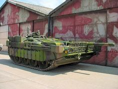 The Stridsvagn 103 (Strv 103), also known as the S-Tank, was a Swedish post-war main battle tank