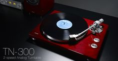 TN-300 - Belt-driveTurntable with USB output