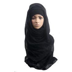 2017 Hot Sale Fashion Muslim Women Shawl Scarf Head Cover Headscarf Muffler #Muslim fashion http://www.ku-ki-shop.com/shop/muslim-fashion/2017-hot-sale-fashion-muslim-women-shawl-scarf-head-cover-headscarf-muffler/