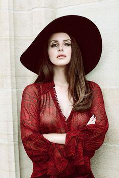 Lana Del Rey for Fashion Magazine by Chris Nicholls, 2014