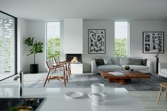 Новые апартаменты в историческом окружении в Бюгдё, Норвегия