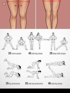 Top 10 Proven Exercises To Lose Inner Thigh Fat Fast Just In A Week Try these 10 ultimate upper thigh workouts and watch the fat burned off fast. These … Top 10 Proven Exercises To Lose Inner Thigh Fat Fast Just In A Week. Fitness Workouts, Summer Body Workouts, Gym Workout For Beginners, Gym Workout Tips, At Home Workout Plan, Fitness Workout For Women, Workout Challenge, Workout Videos, Week Workout