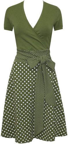 Outfit skirt Dress Sophie Dots allover in many colors Kleid Sophie dots allover in vielen Farben Dress Outfits, Cute Outfits, Fashion Outfits, Womens Fashion, Work Outfits, African Fashion Dresses, African Dress, Dress Skirt, Dress Up
