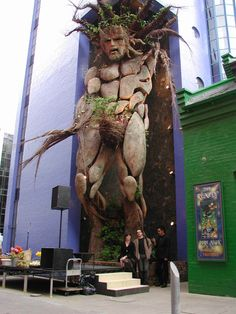 Giant Green Man