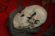 Skull From Visby Found in Chainmail   Flickr - Photo Sharing!