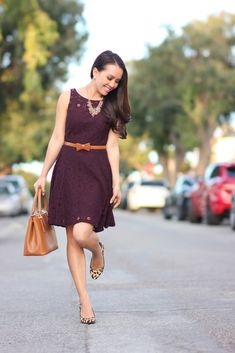 "BB Dakota ""Renley"" Lace Fit and Flare Dress at Nordstrom. $88. Available in other colors."