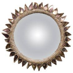 Line Vautrin, Mirror 'Soleil a Pointes N1' | 1stdibs.com dia21.5cm £21000