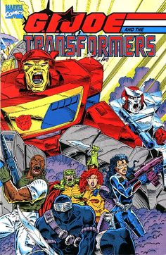 G.I. Joe and the Transformers, trade paperback