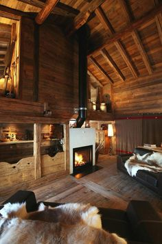 Chalet style.