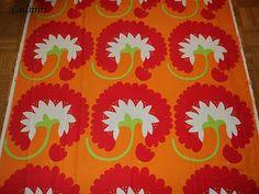 Tampella fabric / puuvilla Vintage Textiles, Antique Prints, Bold Prints, Art Prints, Poster Prints, Posters, Floral Motif, Graphic Illustration, Print Design
