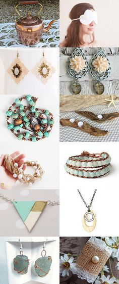 Dream of Forest, Dream of Sea by Janina on Etsy--Pinned+with+TreasuryPin.com