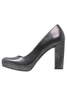 Zapatos altos - black metallic