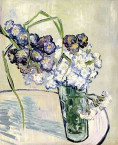 Van Gogh Still life, vase with carnations - 1890
