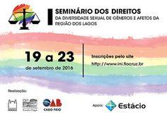 CIDADE: Seminário sobre Diversidade Sexual nesta segunda