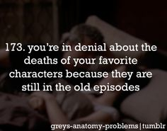 For real... Let's see.... Mark... it just hurt me when mark died... and george.... and lexi, but mostly mark.
