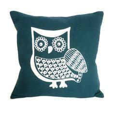 Embroidered Owl Cushion #PinItToWinIt #comp #dunelm #cushion