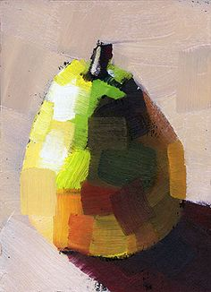 Creative Art, Ffffound, Pear, Fruit, and Painting image ideas & inspiration on Designspiration