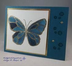 Brusho Watercolor Butterfly