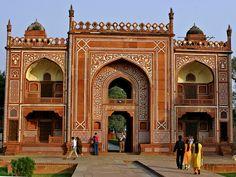 TUMBA I`TIMAD-DAULAH Agra, Taj Mahal, Sweet Home, India, Culture, Country, Architecture, Building, People