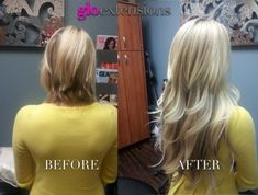 tape in extensions before and after - Google Search