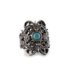 Shyanne, R15072101, Antiqued Silver