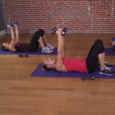 10 Minutes to Tone: Arm Workout | Pop Sugar (From Andrea Orbeck, trainer for many of the Victoria's Secret models)