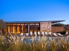 A dazzling fortress of stone, adobe bricks, and rammed earth, with glass walls to maximize views of the Licancabur volcano and the vast Atacama Desert.