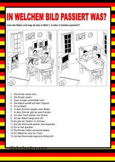 Willkommen auf Deutsch - Bildbeschreibung