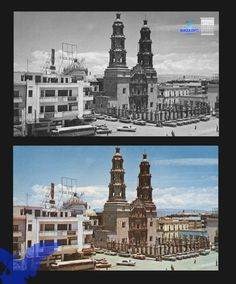 Central de Ómnibus de México esta se encontraba frente a la Catedral Basílica, (foto AGM)