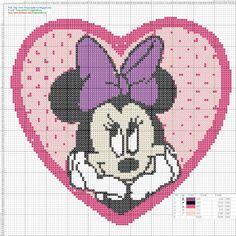 betty boop croos stitch patterns on pinterest | ... de Cruz Gratis: Minnie Mouse Cross Stitch Patterns - Punto de cruz