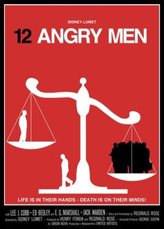 12 Angry Men (1957) [1080x1502] [OC] in Album: Movie Posters