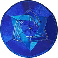 Jewish wedding kippah / yarmulke by designkippah on Etsy. Judaica
